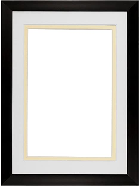 A4 Photo Frame x2 White Picture Frame Black White Silver Grey Frame  with glass