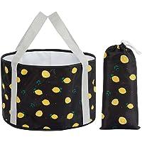 HOOYEE Multifunctional Portable Travel Outdoor Wash Basin Folding Bucket
