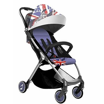 babysing – Carrito de bebé para cochecito de paseo Kid carrito plegable 2.Britain Band