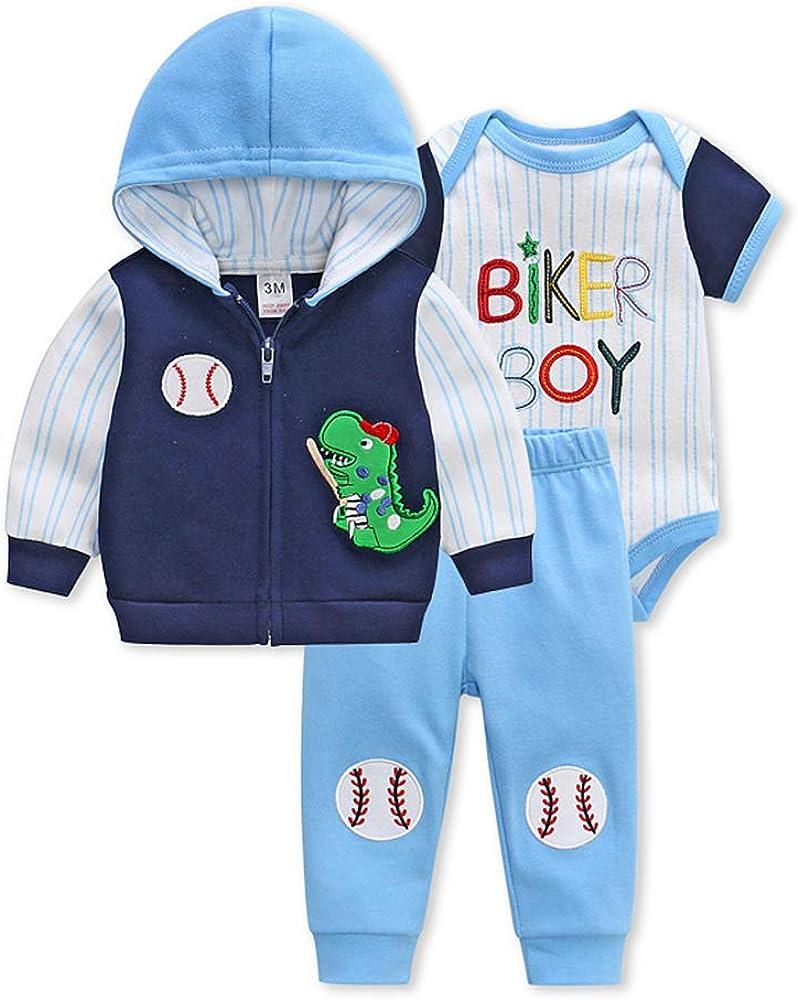 Y Nidus Newborn Baby Boy Clothes Sets 0 3 6 Months Outfit Organic Infant Bodysuits Romper Cotton Cardigan Pant