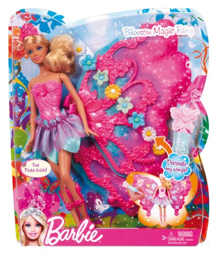 Barbie Flower N Flutter Fairy Barbie Doll Buy Online In