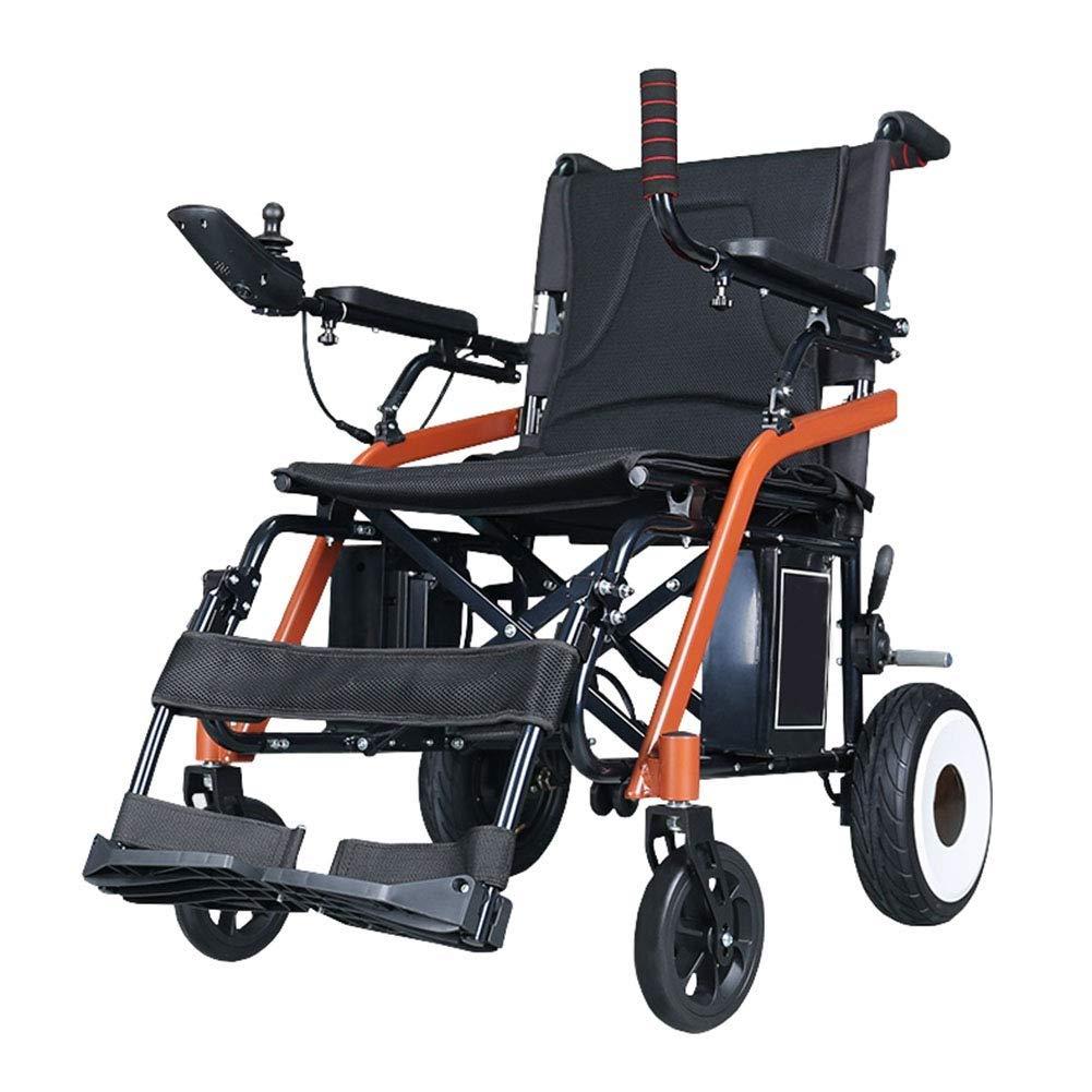 【オンラインショップ】 電動車椅子折りたたみポータブルインテリジェント自動超軽量障害者手押しスクーター B07NS8FC8W B07NS8FC8W, パーティワールド:5254febc --- a0267596.xsph.ru