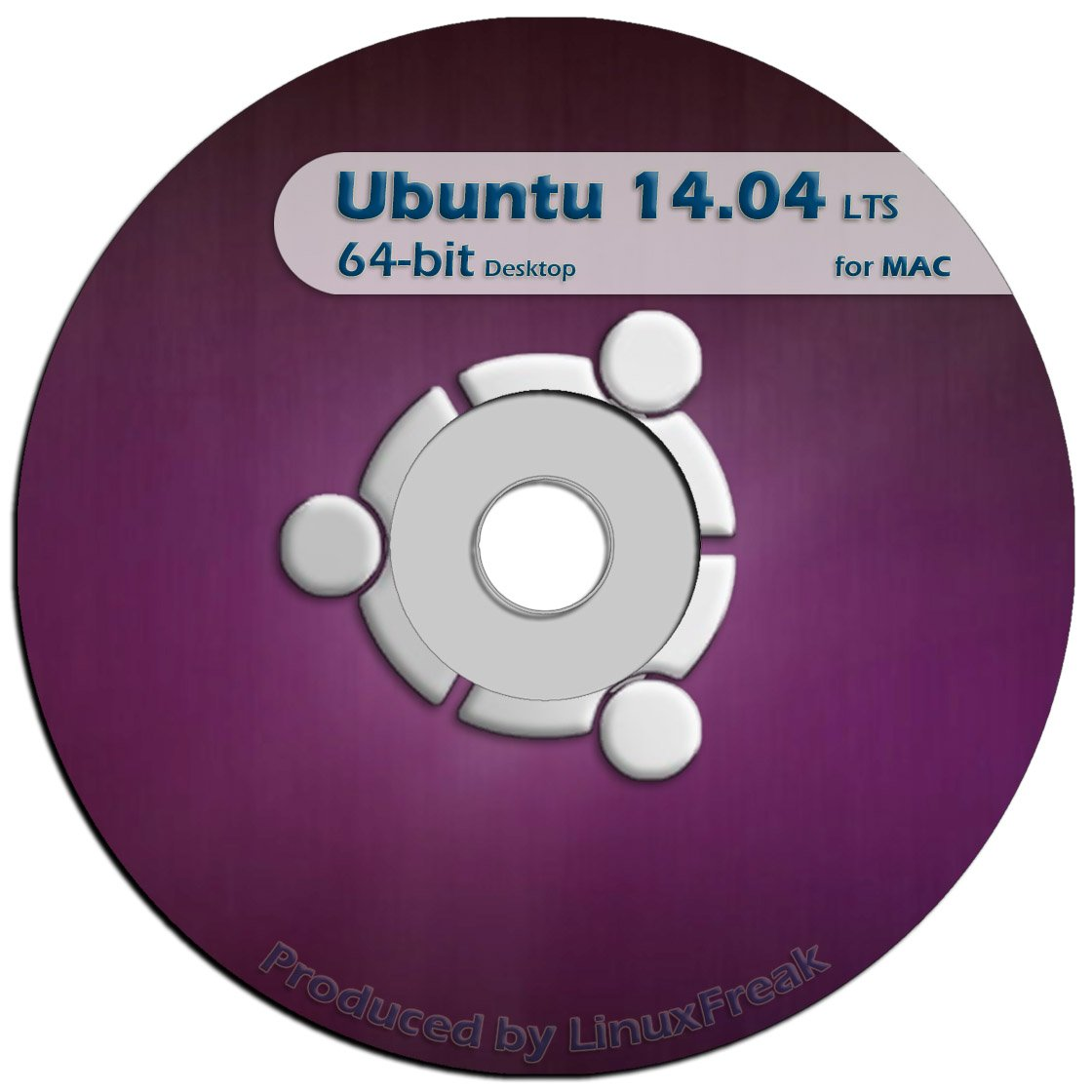 Ubuntu Linux 14.04 DVD - OFFICIAL 64-bit release for MAC by LinuxFreak