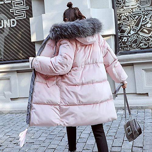 Lungo Con Cappuccio Libero Donna Imbottite Cotone Velluto Tempo Tasca Pelliccia Giacche Invernale A Coste Donna In Di Cappotto Cappotti Rosa Moda Giacca Capispalla Outdoor Per Il TOqtpUw