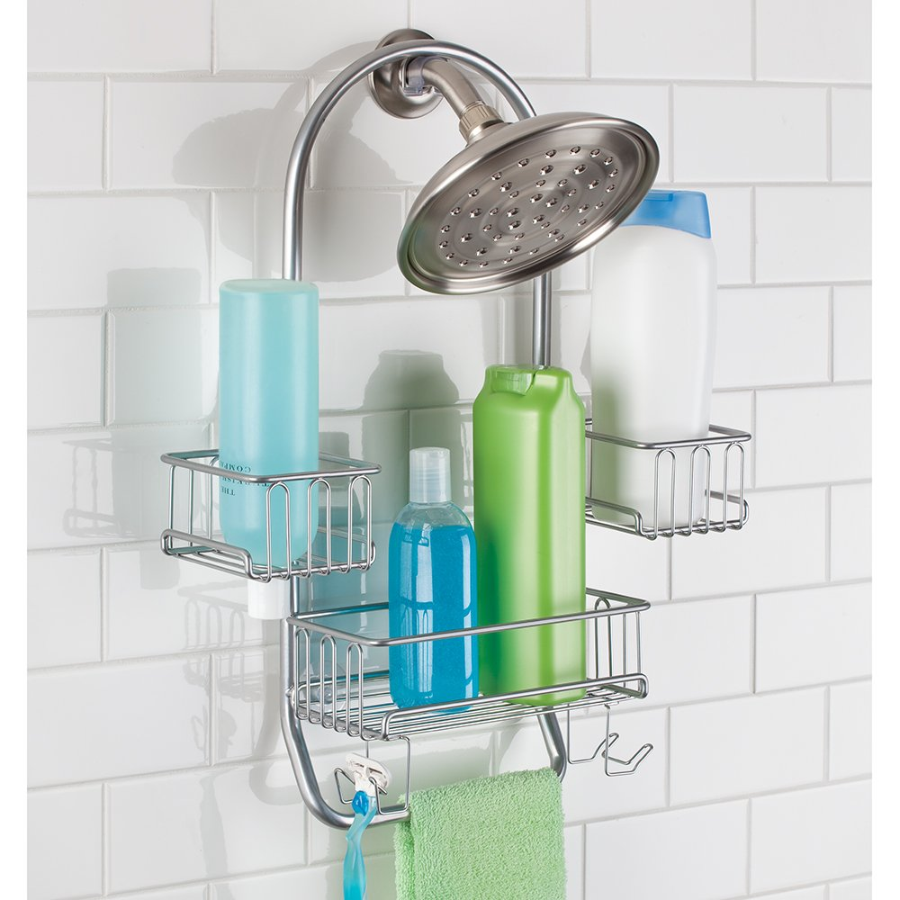 Shower Caddy. Croydex Rust Free Shower Caddy With Shower Caddy ...