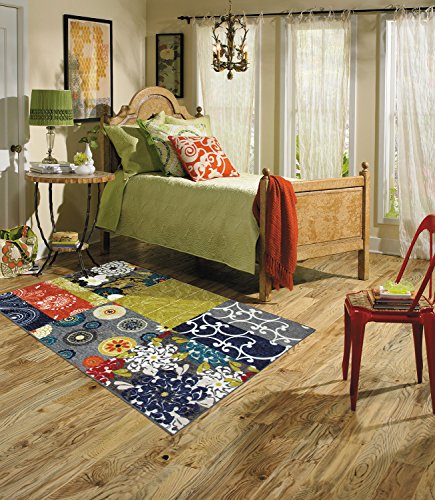 Mohawk Home New Wave Secret Garden Patchwork Printed Area Rug, 5'x8', Multicolor from Mohawk Home