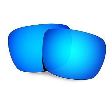 60d298b67d4 HKUCO Plus Replacement Lenses For Spy Optic Helm Sunglasses Blue Polarized   Amazon.co.uk  Sports   Outdoors