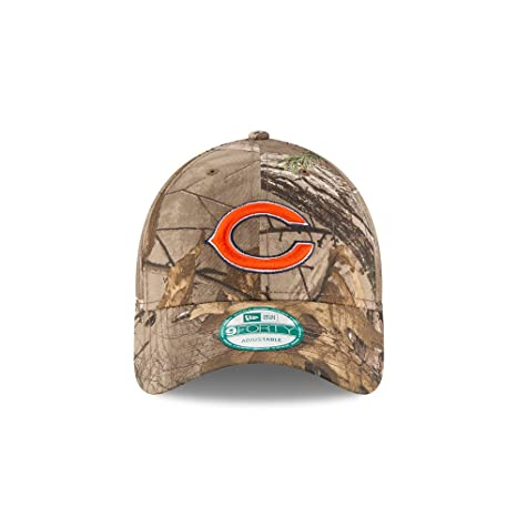 size 40 252dc 149a2 New Era Chicago Bears The League Realtree Camo 9FORTY Adjustable Hat / Cap