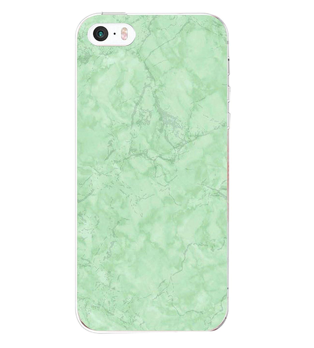 vanki Custodia iPhone 5 5s iPhone 5/5s/se Cover Case Morbida di TPU Silikon Cristallo Trasparente Sottile Bordo Proteggi Copertura Completa-modello originale Color 1) VITXY-L0338
