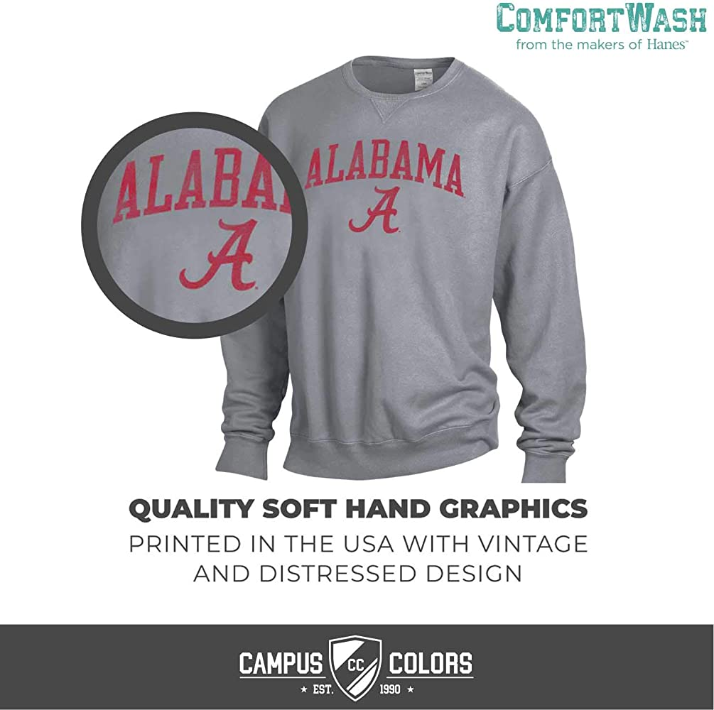 Champion NCAA Unisex NCAA Mens Long Sleeve Eco Powerblend Sweatshirt Unisex Officially Licensed Crewneck Fleece