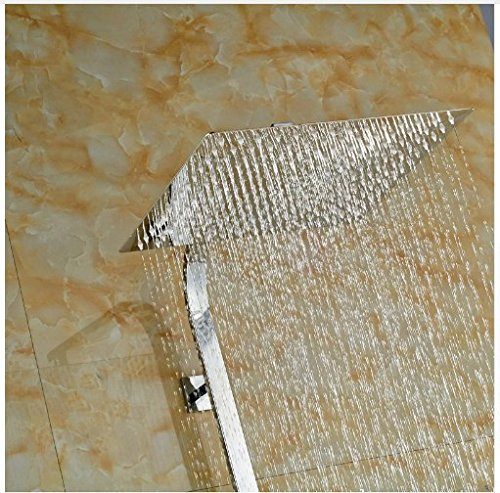 Gowe Single Lever Bathroom Tub Shower Units Brass Chrome Finish Shower Set W/Hand Shower Mixer Faucet 1