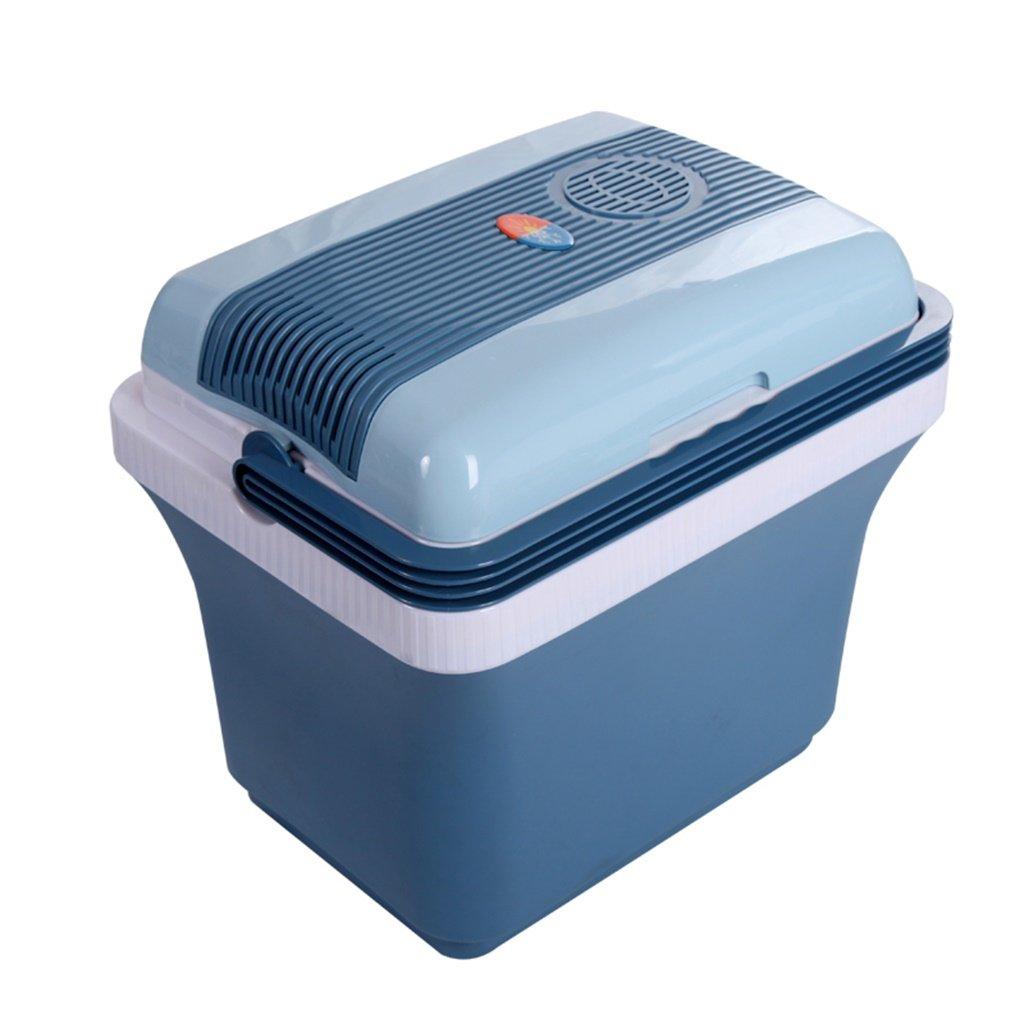 Car Refrigerators YXGH@ 28L 12V DC 220V AC Refrigeration Heating Mini Fridge Small Home Micro Refrigerator Car Dual-use Refrigerator Dimensions: 453545cm Internal Size: 362534cm Automotive Accessor