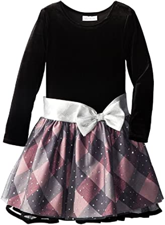 Short silver spandex tutu skirt black net bow