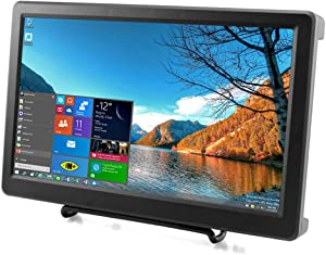 Elecrow 10.1 Inch Raspberry Pi Screen 1920X1080p HDMI VGA Portable Monitor IPS Gaming Screen Compatible with Raspberry Pi 4B/3B+/3B WiiU Xbox 360 Windows 7/8/10