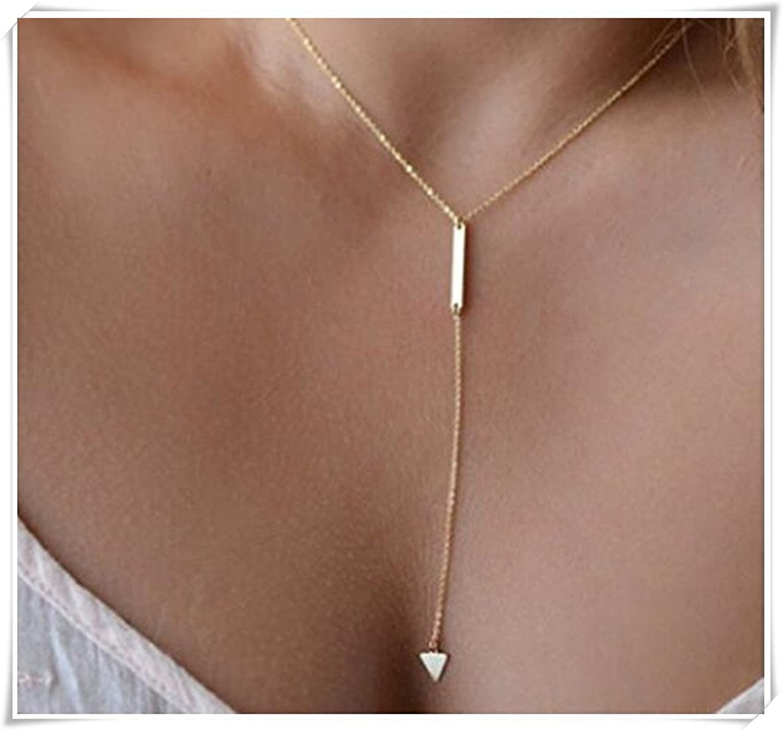 Triángulo del metal Collar