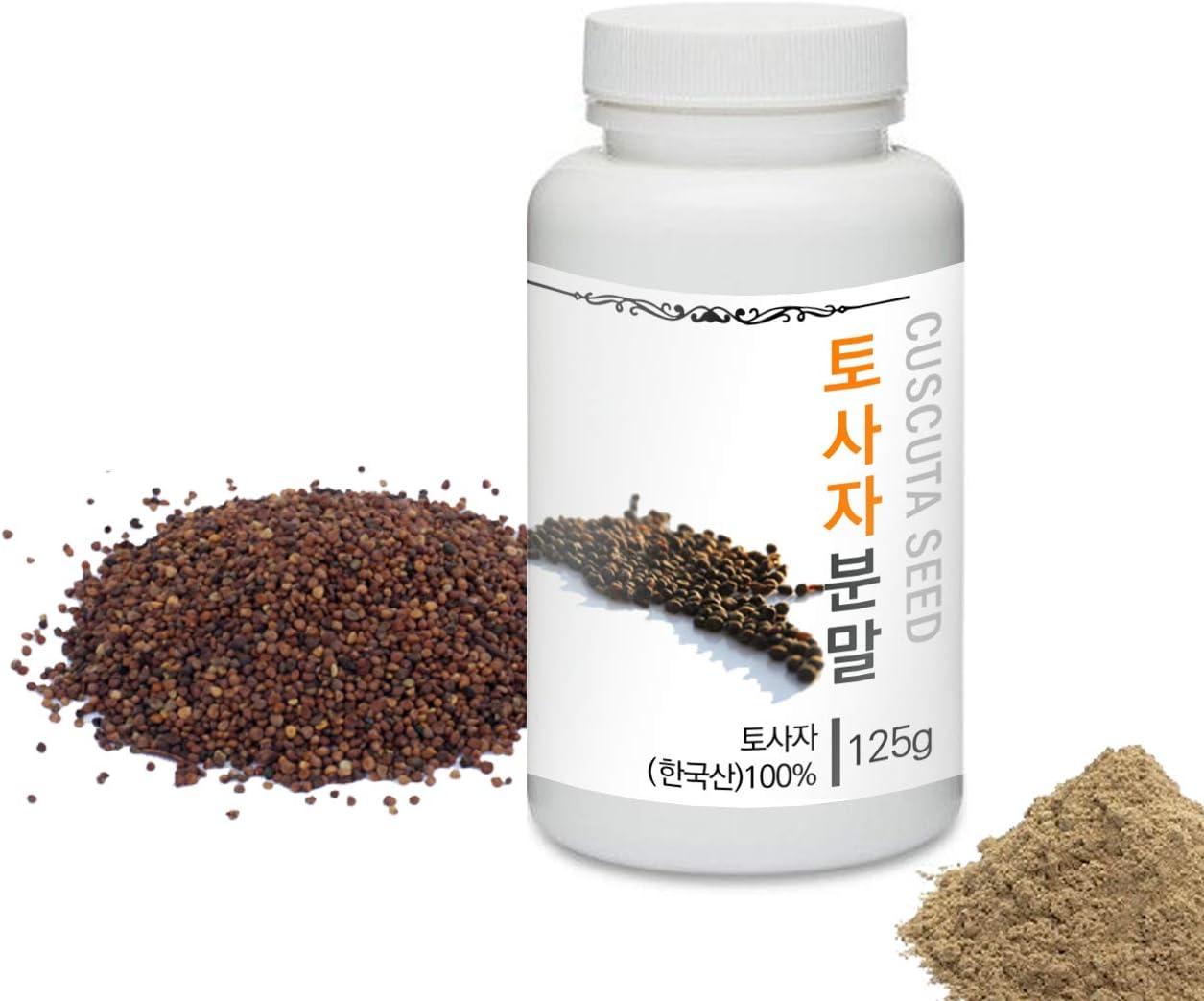 [Medicinal Herbal Powder] Prince Natural Cuscuta Seed Powder/프린스 토사자분말, 4.4oz / 125g (Cuscuta Seed/토사자)