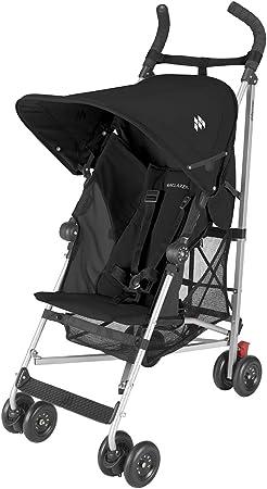 Maclaren Globetrotter - Silla de paseo, color negro: Amazon.es: Bebé