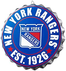 NHL Bottlecap Wall Sign