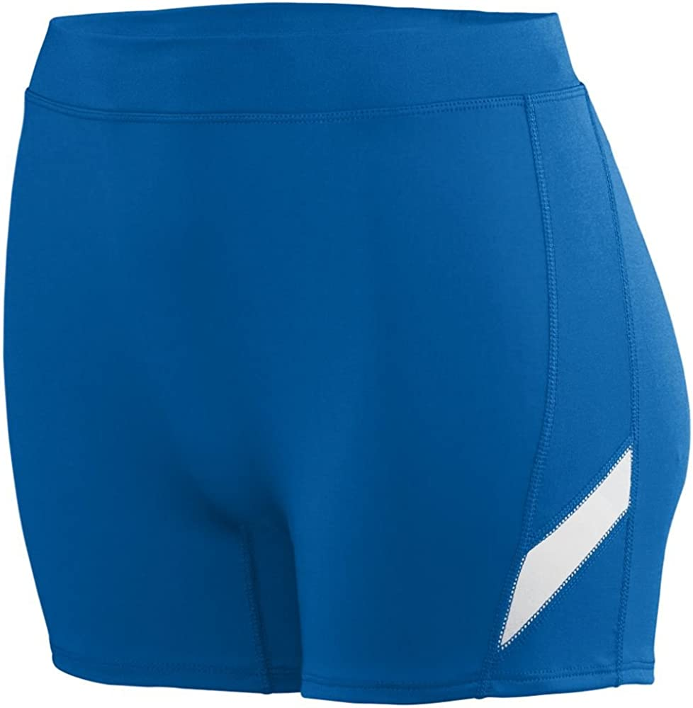 Aeroskin Polypropylene Two Piece Top with Sports Short and Color Side Stripes