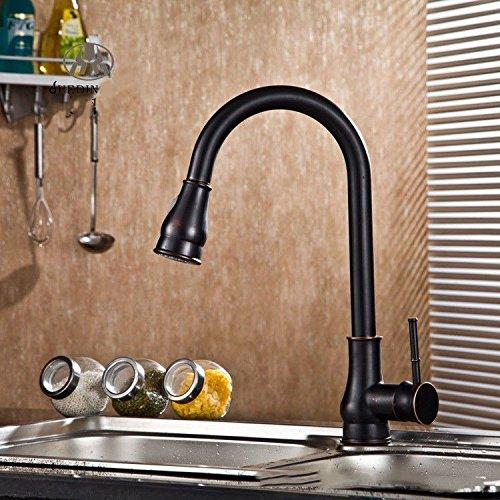 Good quality Antiquitäten Becken Spül Mischer Tap Küchenhahn Wasserhahn ziehen Wasserhahn Waschbecken Teller ziehen Wasserhahn Becken heiß und kalt ziehen Wasserhahn über Zähler Becken Wasserhahn