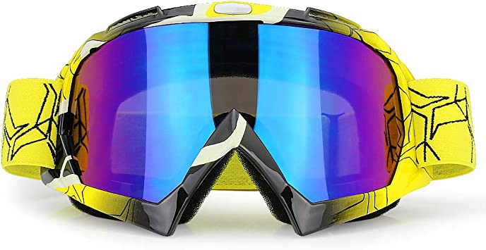 OFF ROAD Goggles  1x Piece  Rainbow