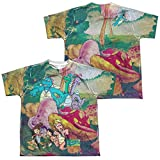 Dragon Tales - Mushroom Meadow Youth All Over Print 100% Poly T-Shirt