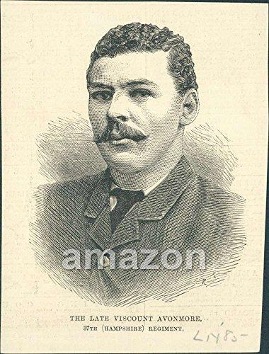 antique-print-the-late-viscount-avonmore-37th-hampshire-regiment-ajo-517