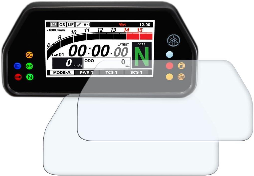2x Yamaha Mt 10sp Fz 10sp Displayschutzfolie Tachoschutzfolie Screen Protector Ultra Clear Auto