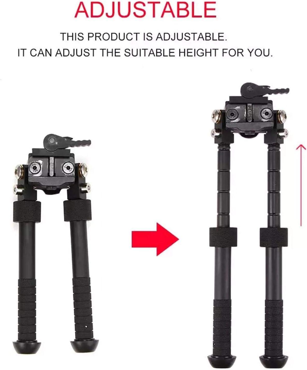 165 Mm Bis Ca Niumen Schwenkbare Halterung 360 /° Drehbares Zweibein Einzigartiger 360-Grad-Drehadapter F/ür Unterschiedliche L/ängen Von Ca 225 Mm