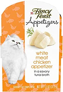Purina Fancy Feast Appetizers Adult Wet Cat Food Complement