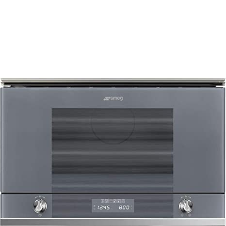 Horno microondas SMEG MP122S1: Amazon.es: Grandes ...