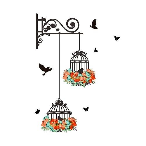 Stickers Cage Oiseau Amazon Fr