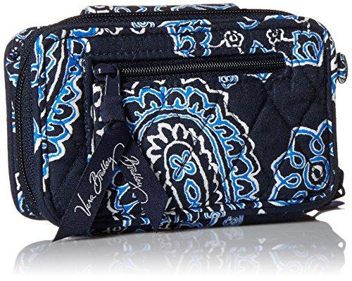 Wristlet Smartphone Iphone Blue Women's Vera 6 Bradley Handbag Bandana nZTEX