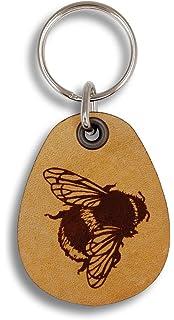 Amazon.com: ForLeatherMore – Llavero de abeja con forma de ...