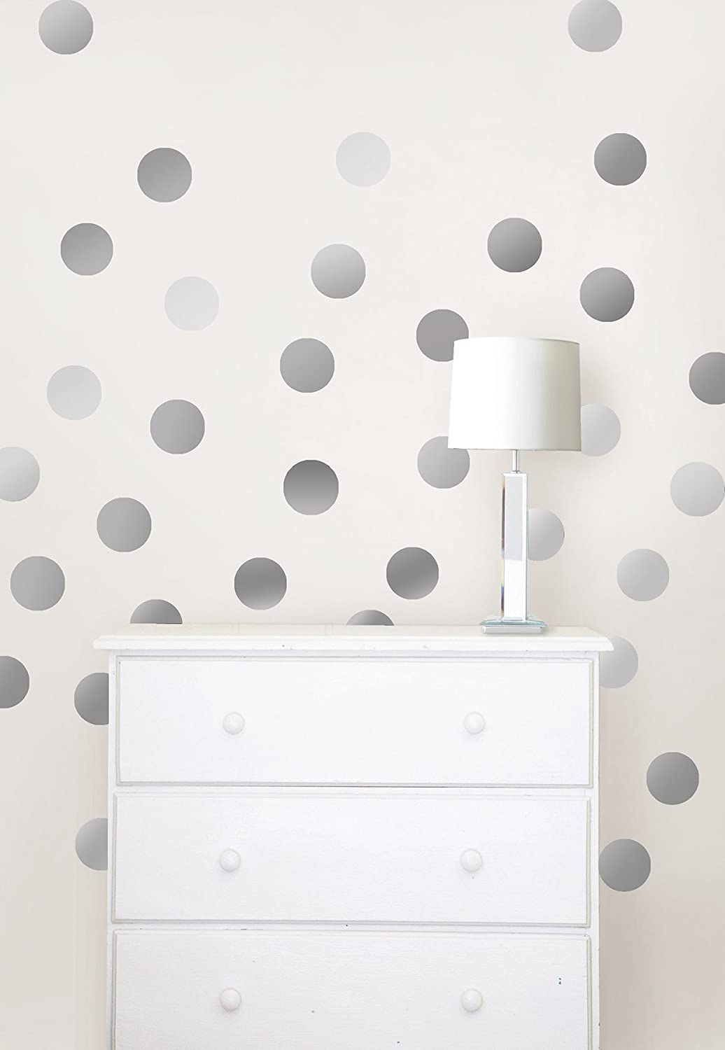 Wall Pops Wpd1593 Silver Confetti Dot Decals Amazon
