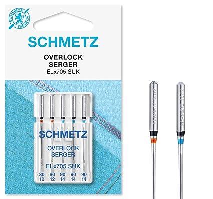 Agujas para Máquinas de Coser Schmetz para overlock máquinas ...