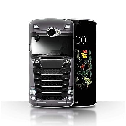 eSwish Carcasa/Funda Dura para el LG K5/X220 / Serie: Camión ...