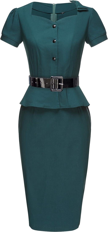 Wiggle Dresses | Pencil Dresses 40s, 50s, 60s GownTown Womens Vintage 1950s Retro Rockabilly Prom Dresses $36.98 AT vintagedancer.com