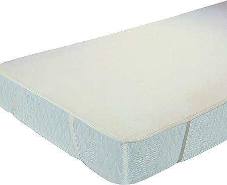 MOLTON Matratzenauflage Baumwolle 90x200 Eckgummis für Matratze Matratzenschutz