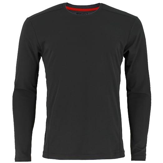 c1b46e91 adidas Men's Baselayer Climacool UPF Long-Sleeve Crew Shirt Underwear  (1-Pack)
