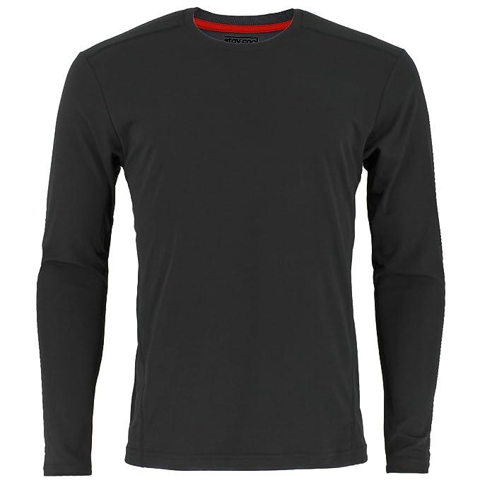 adidas Men's Baselayer Climacool UPF Long Sleeve Crew Top