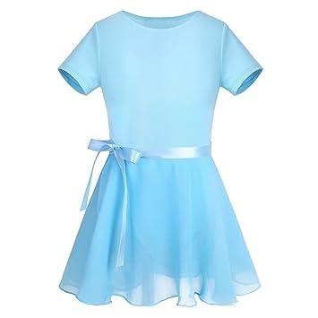 Vestido básico de manga corta, con maillot y falda tipo tutú con ...