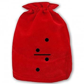 Amazon.com: Bolsas de regalo de Navidad con cordón para ...