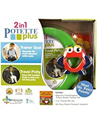 Kalencom Mr. Petey Potette Potty Training Kit, Green BOBEBE Online Baby Store From New York to Miami and Los Angeles