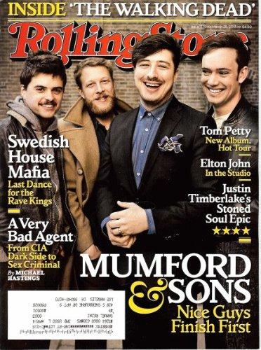 Dead Guys Rock - Mumford & Sons - Rolling Stone Magazine - #1179 - March 28, 2013
