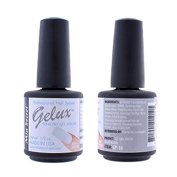 Amazon.com: Mia Secret Soak Off UV/LED gelux Gel Esmalte de ...