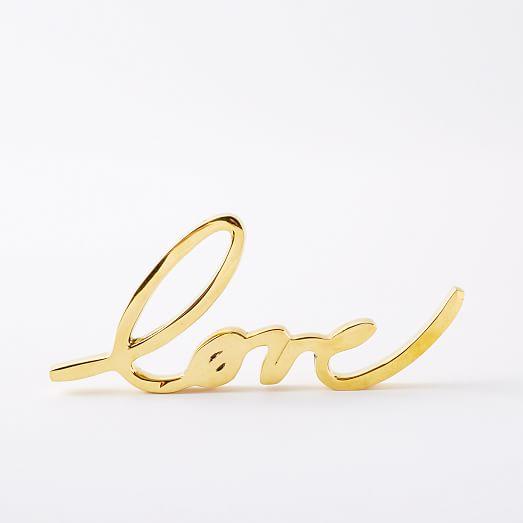 Brass Love Object | west elm