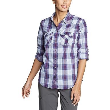 1646da101ad Eddie Bauer Women s Mountain Long-Sleeve Shirt at Amazon Women s ...