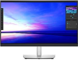 Dell P2721Q 27 Inch 4K FHD, IP Ultra-Thin Bezel Monitor, USB-C, HDMI, DisplayPort, VESA Certified, Silver (Renewed)