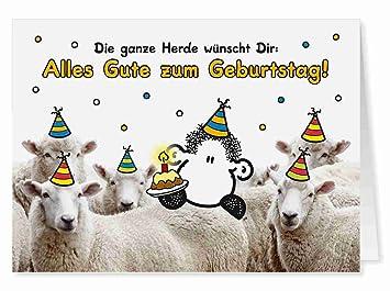66 Kollegen Geburtstag Midi Grusskarte Von Sheepworld Amazon De